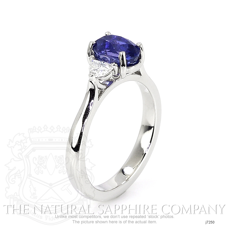 1.87ct Blue Sapphire Ring Image 2