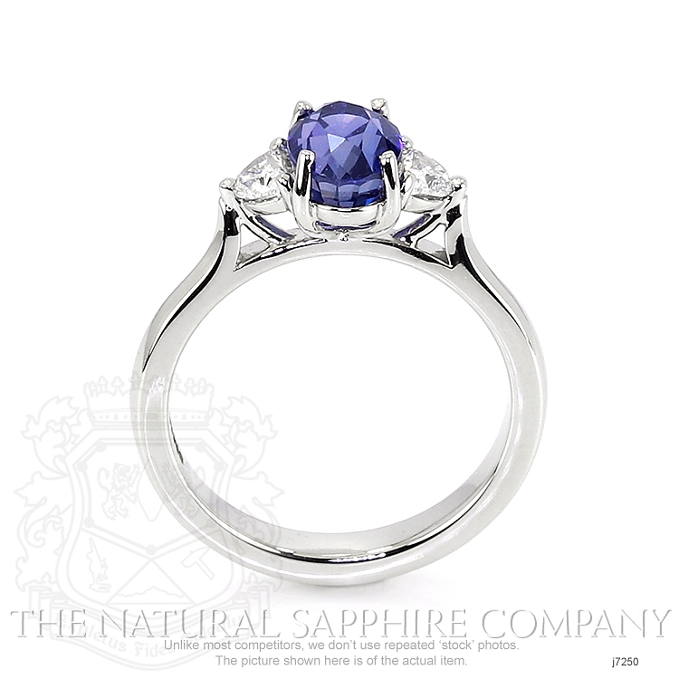 1.87ct Blue Sapphire Ring Image 4