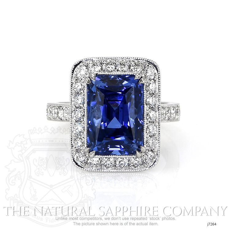 10.55ct Blue Sapphire Ring Image