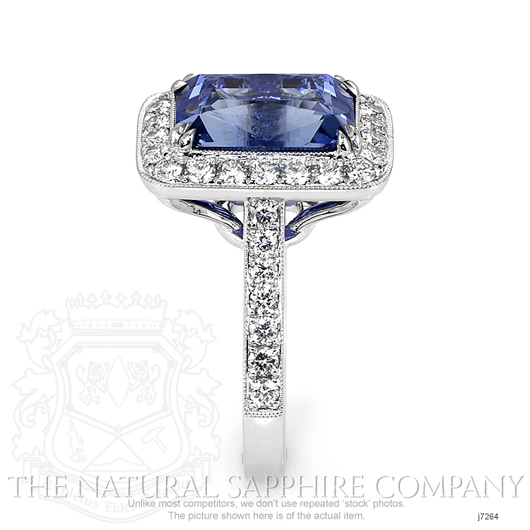 10.55ct Blue Sapphire Ring Image 3
