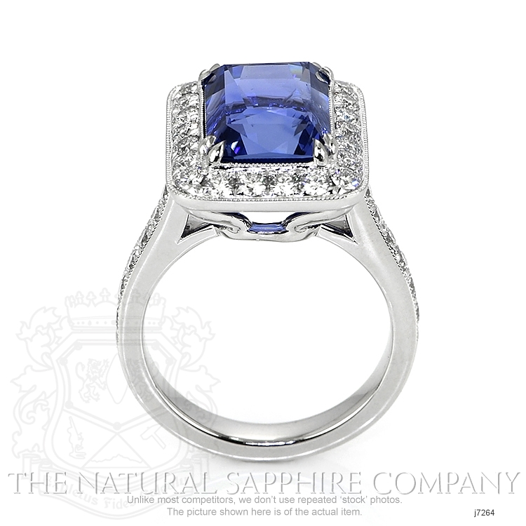 10.55ct Blue Sapphire Ring Image 4
