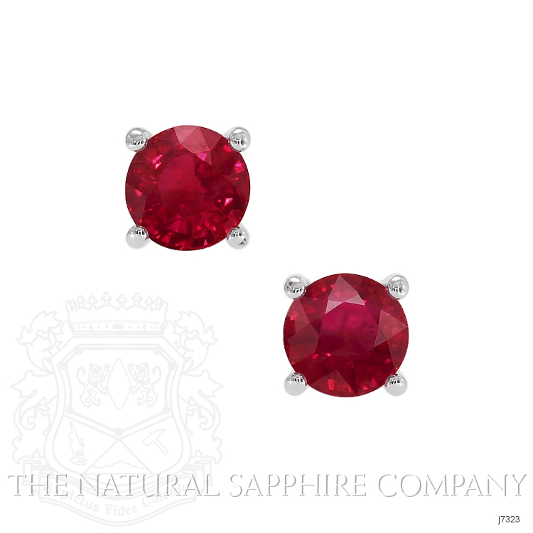 0.82ct Ruby Earring Image
