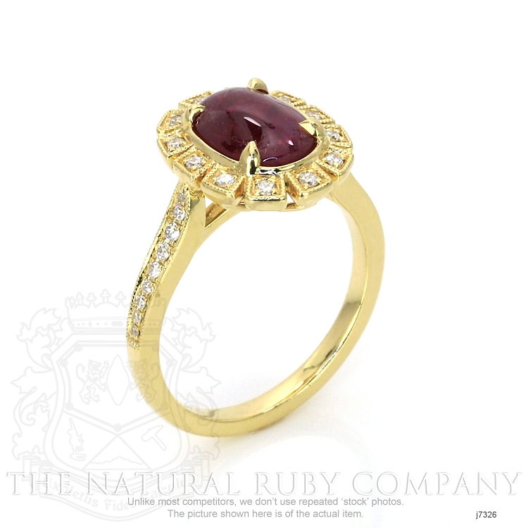 2.16ct Ruby Ring Image 2