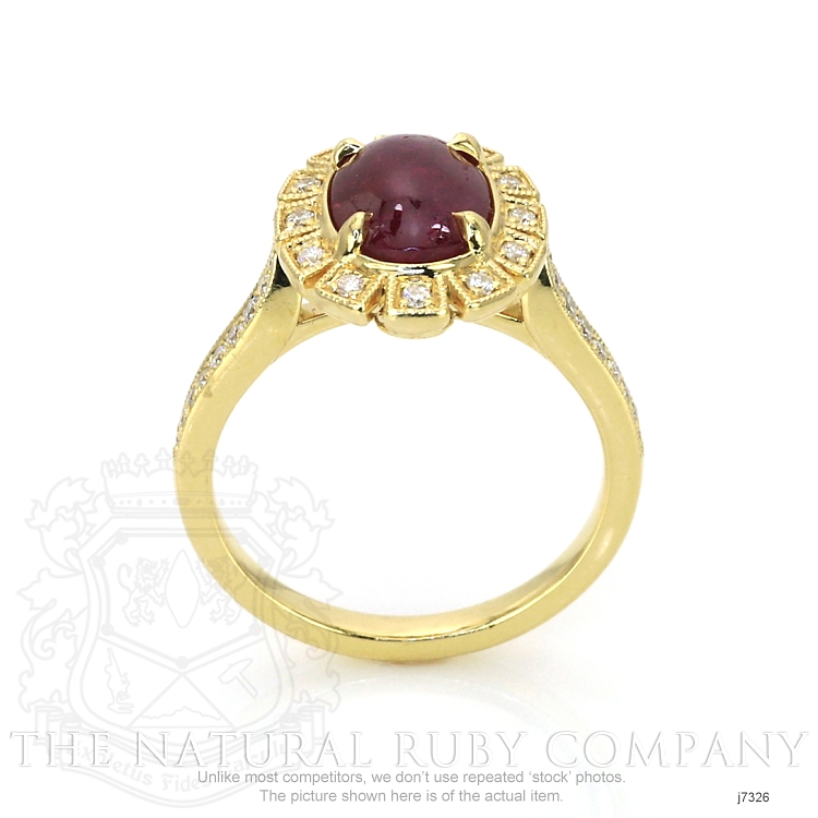 2.16ct Ruby Ring Image 4