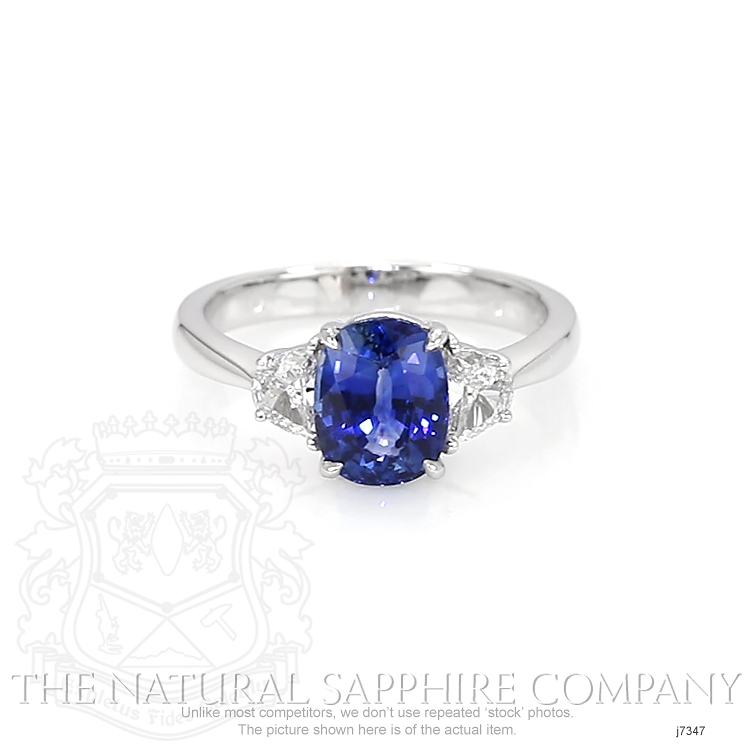 2.38ct Blue Sapphire Ring Image