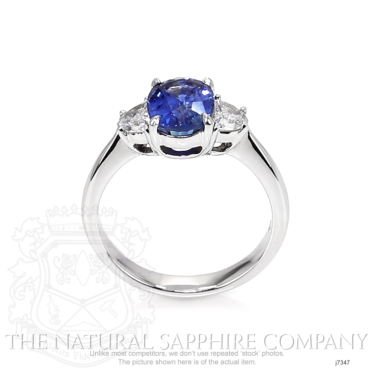 2.38ct Blue Sapphire Ring Image 4