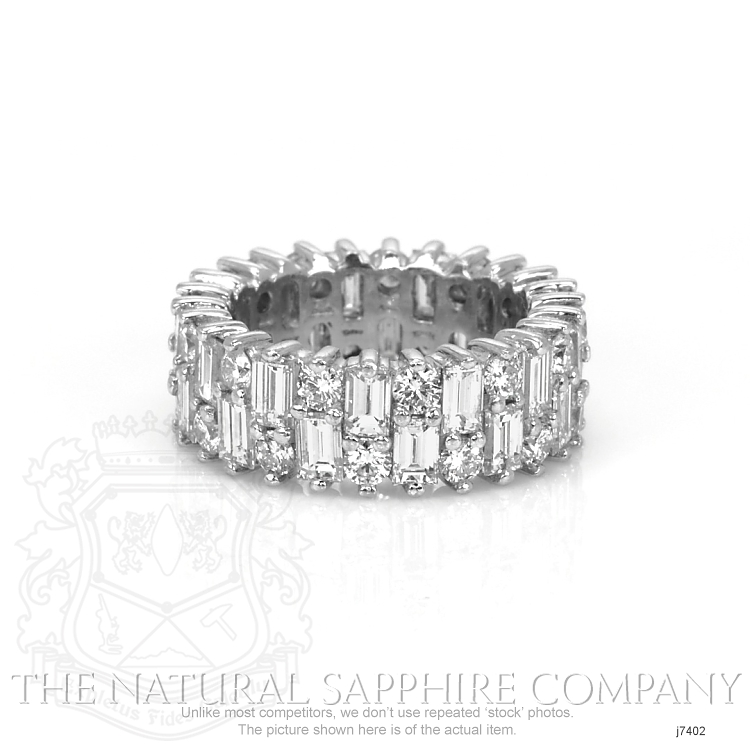 5.20ct White Diamond Band Image