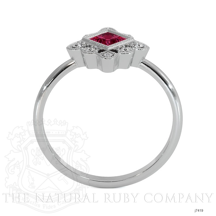 0.16ct Ruby Ring Image 3