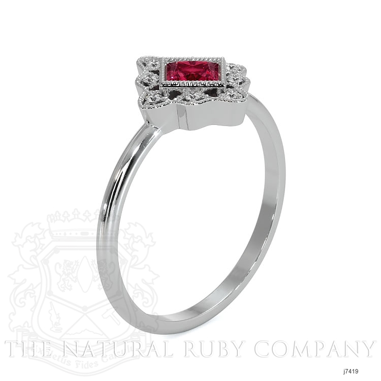 0.16ct Ruby Ring Image 4
