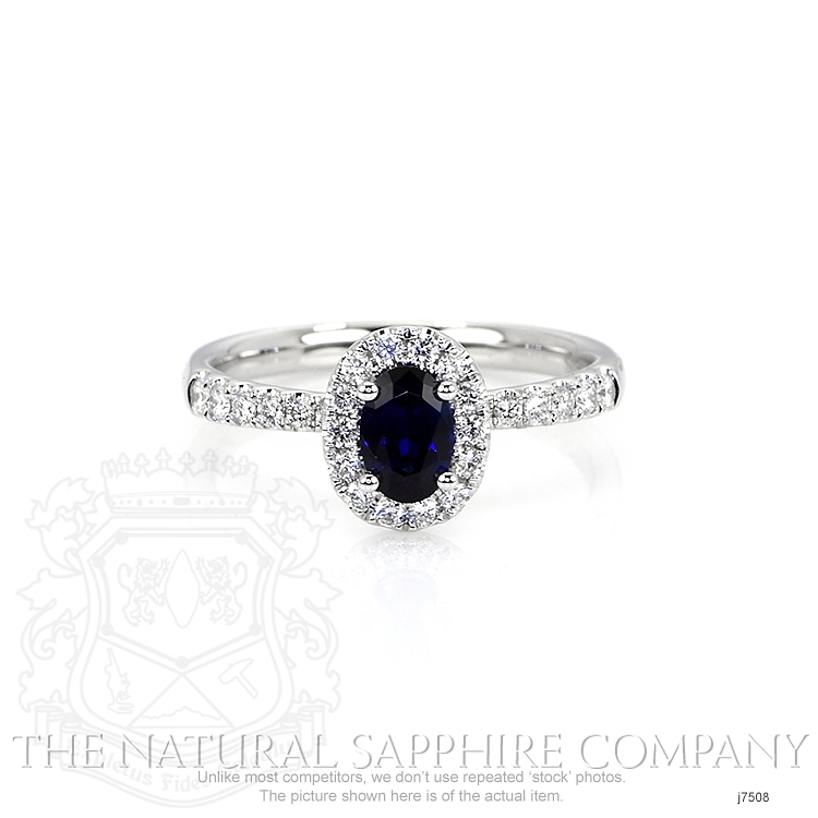 0.59ct Blue Sapphire Ring Image