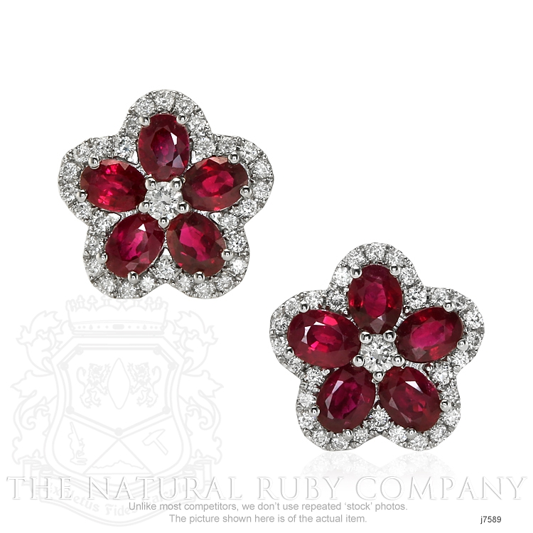 2.02ct Ruby Earring Image