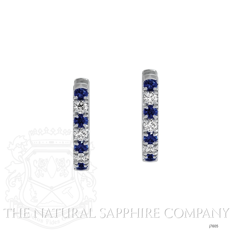 0.20ct Blue Sapphire Earring Image