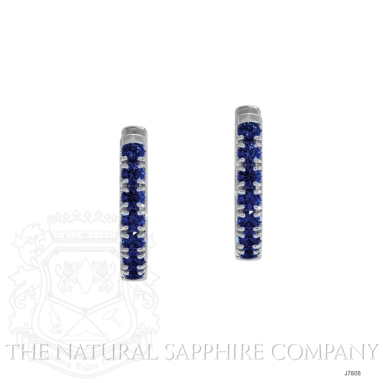 0.38ct Blue Sapphire Earring Image