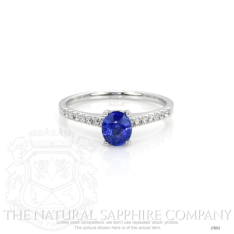0.77ct Blue Sapphire Ring Image