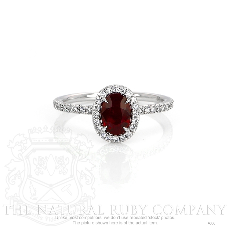 0.80ct Ruby Ring Image