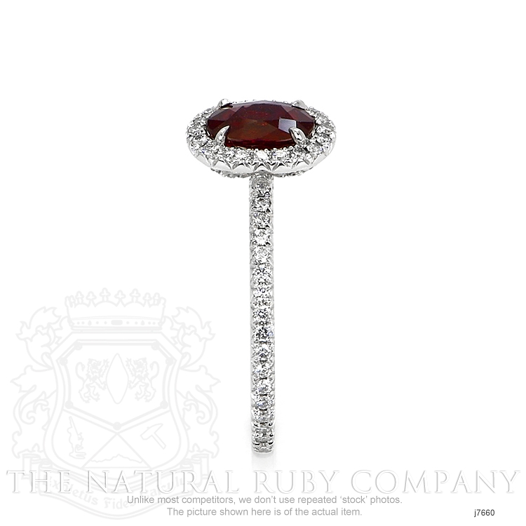 0.80ct Ruby Ring Image 3