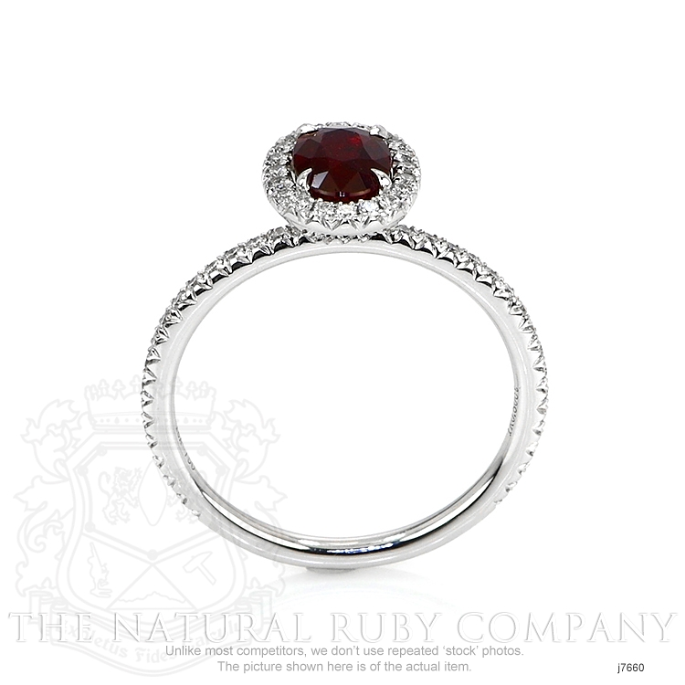 0.80ct Ruby Ring Image 4