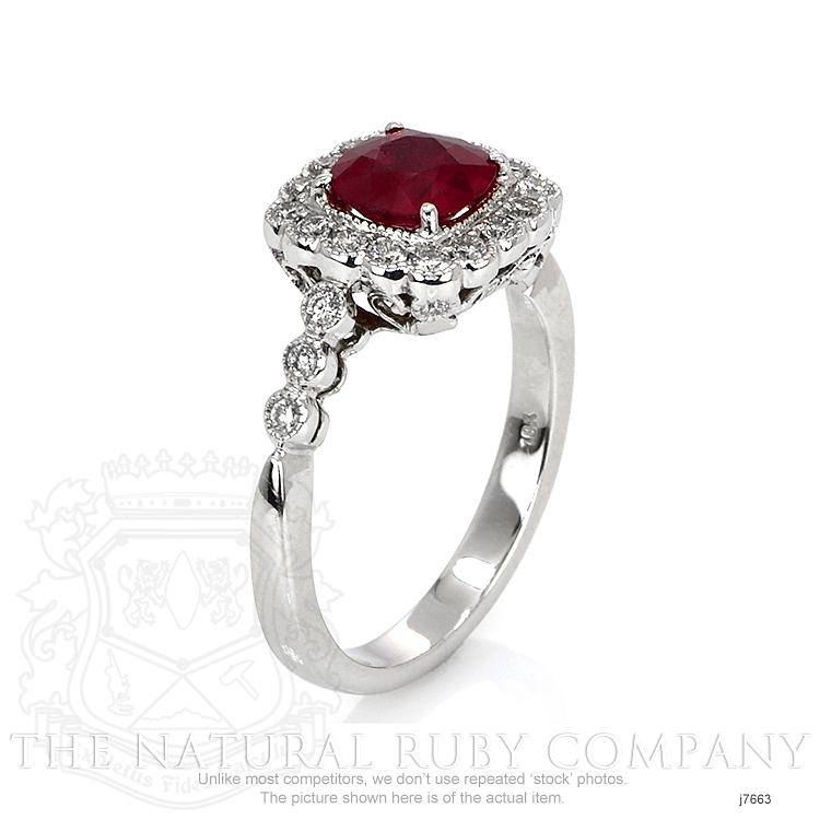 1.18ct Ruby Ring Image 2