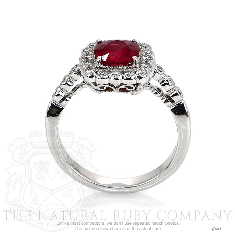 1.18ct Ruby Ring Image 4