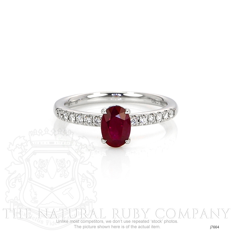 0.96ct Ruby Ring Image