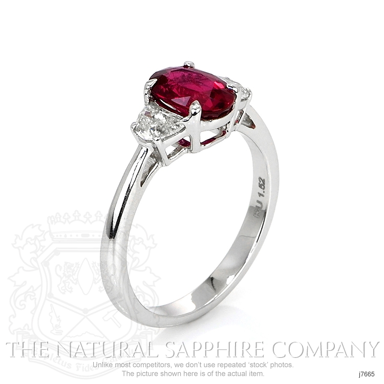 1.52ct Ruby Ring Image 2