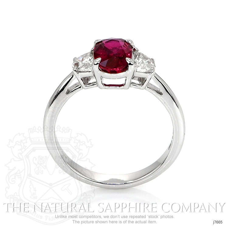 1.52ct Ruby Ring Image 4