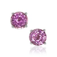 1.55ct Pink Sapphire Earring - J7678