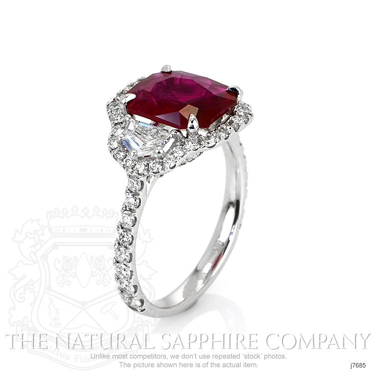 2.92ct Ruby Ring Image 2