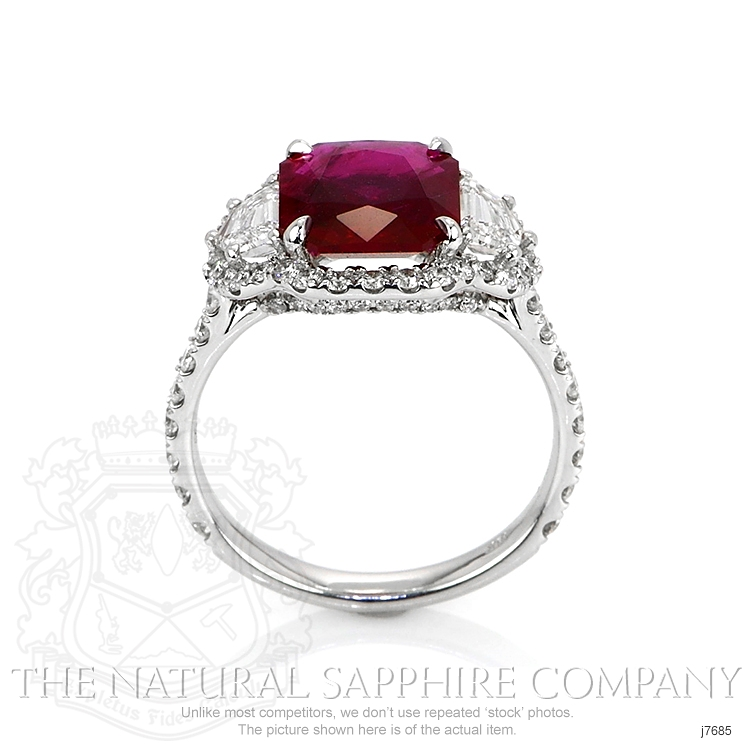 2.92ct Ruby Ring Image 4
