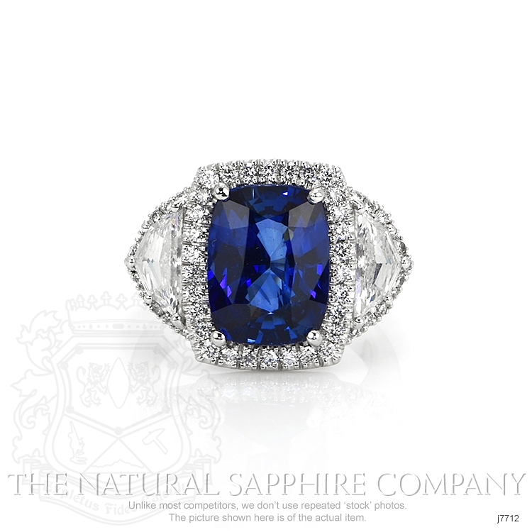 6.97ct Blue Sapphire Ring Image