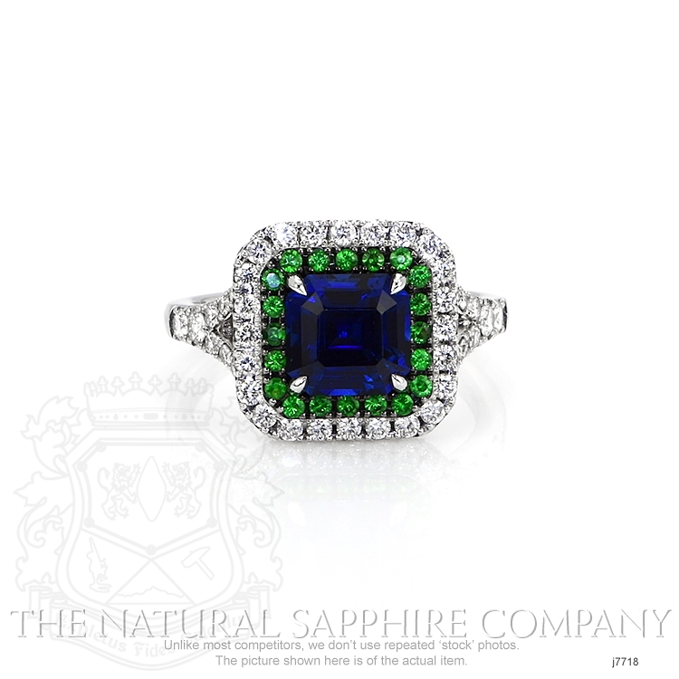 2.35ct Blue Sapphire Ring Image