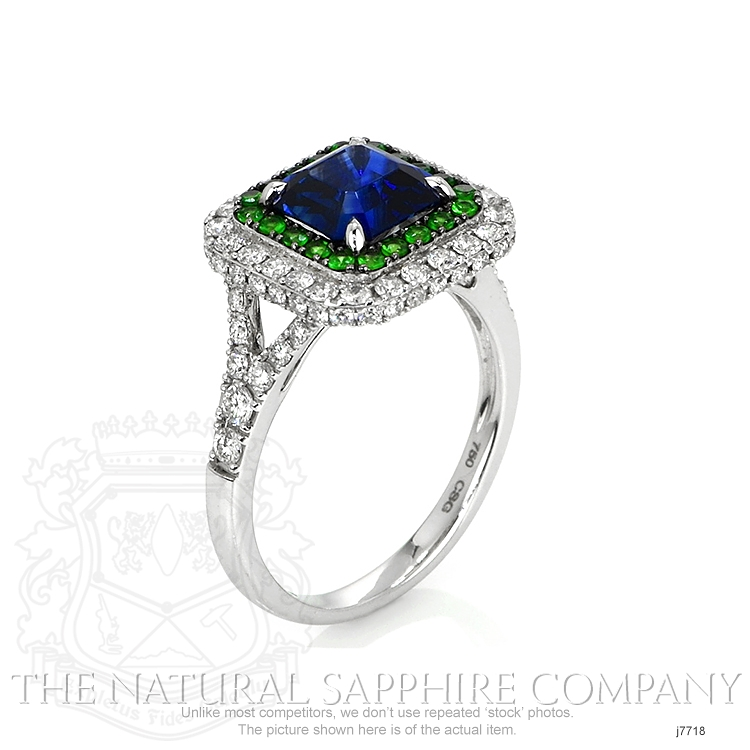 2.35ct Blue Sapphire Ring Image 2