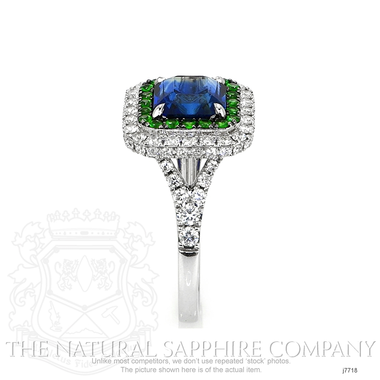 2.35ct Blue Sapphire Ring Image 3