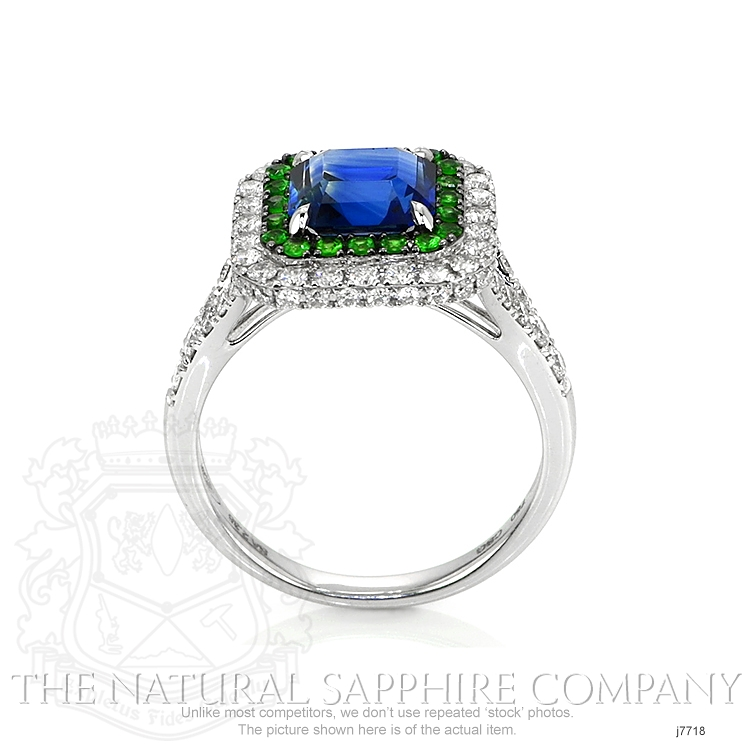 2.35ct Blue Sapphire Ring Image 4