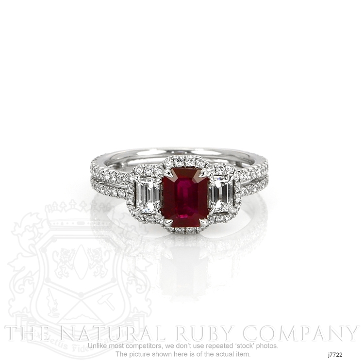1.10ct Ruby Ring Image