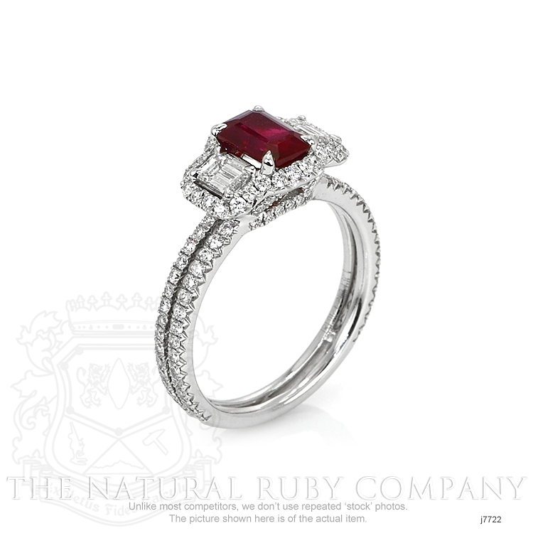 1.10ct Ruby Ring Image 2