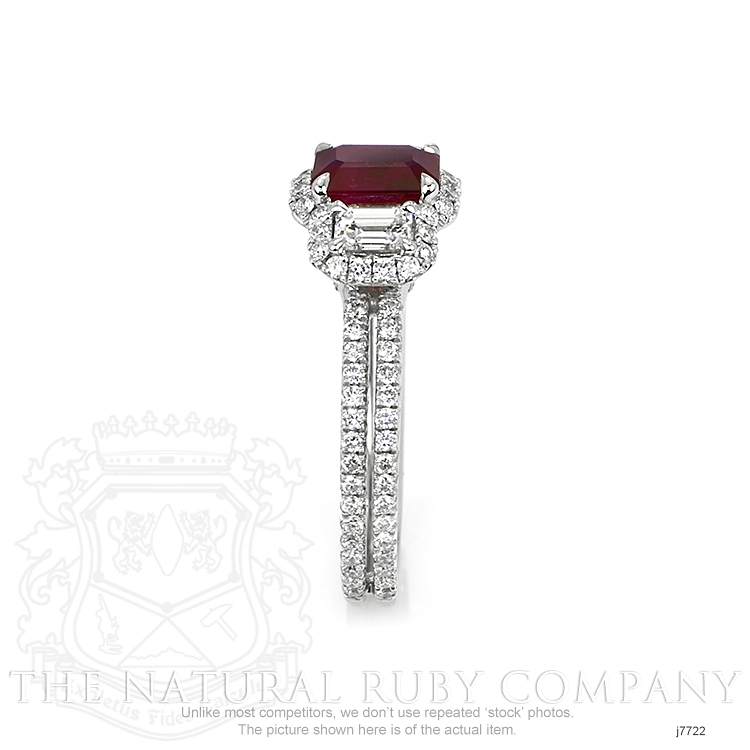 1.10ct Ruby Ring Image 3