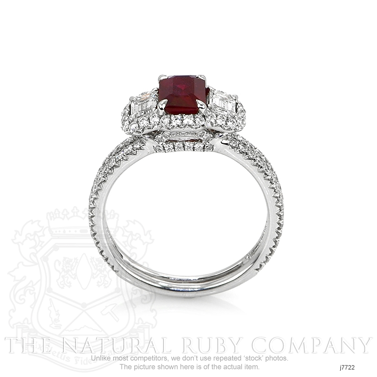 1.10ct Ruby Ring Image 4