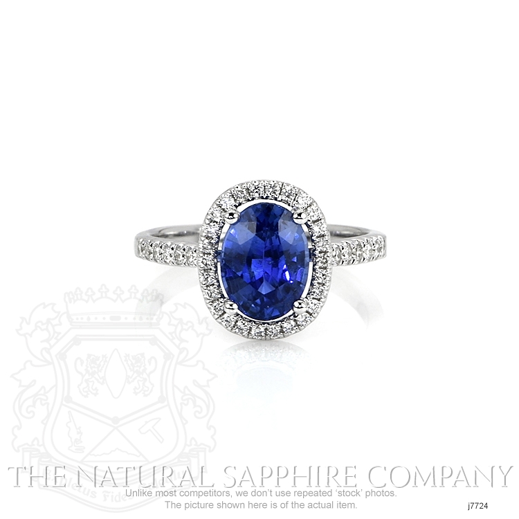 2.28ct Blue Sapphire Ring Image
