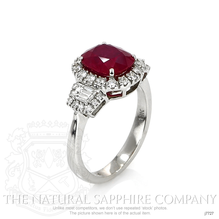2.38ct Ruby Ring Image 2