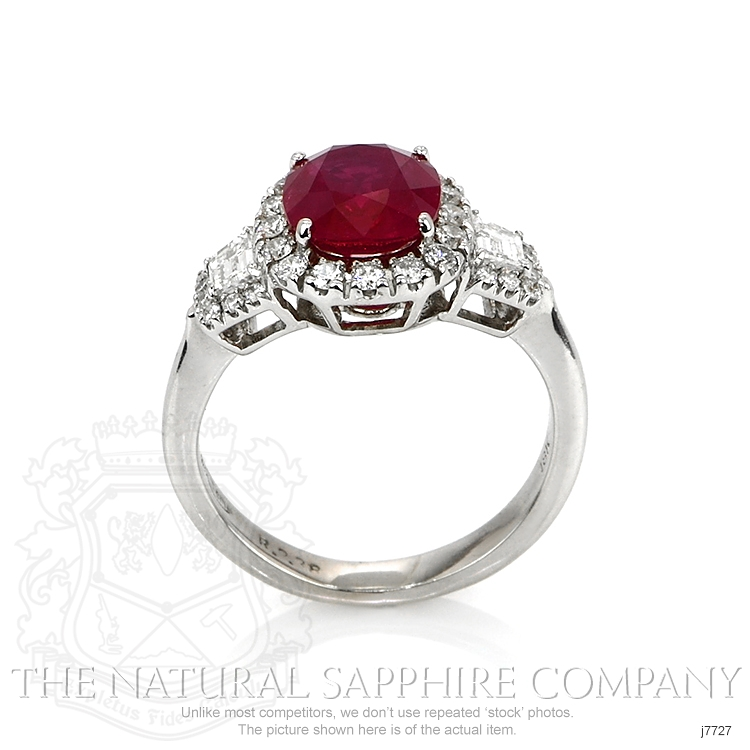2.38ct Ruby Ring Image 4