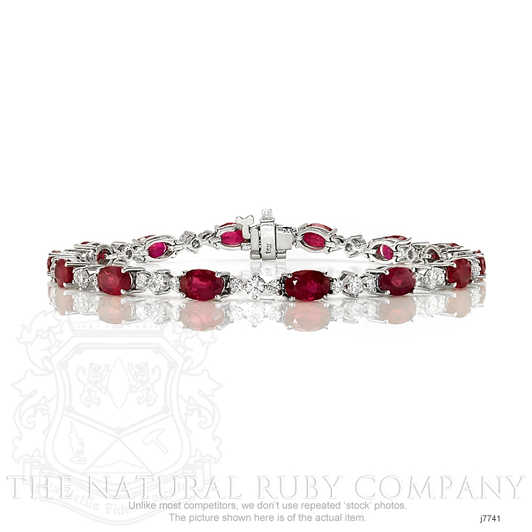 8.40ct Ruby Bracelet Image