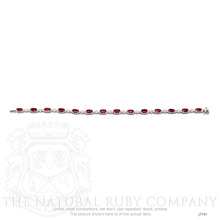 8.40ct Ruby Bracelet Image 3