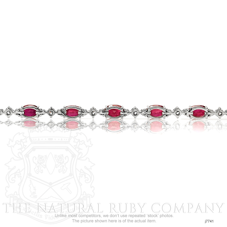 8.40ct Ruby Bracelet Image 4