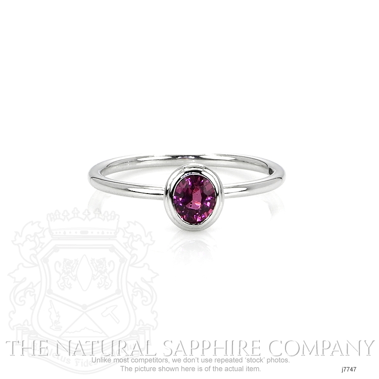 0.60ct Pink Sapphire Ring Image