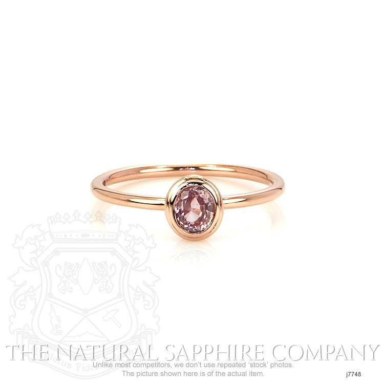 0.56ct Pink Sapphire Ring Image