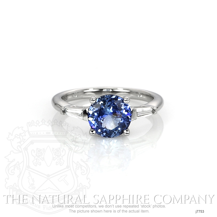 1.78ct Blue Sapphire Ring Image