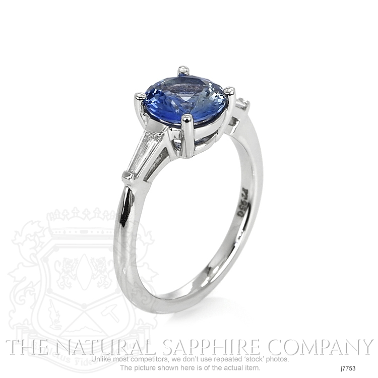 1.78ct Blue Sapphire Ring Image 2