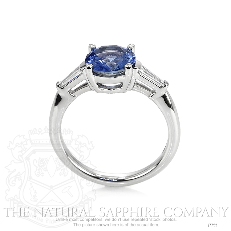 1.78ct Blue Sapphire Ring Image 4