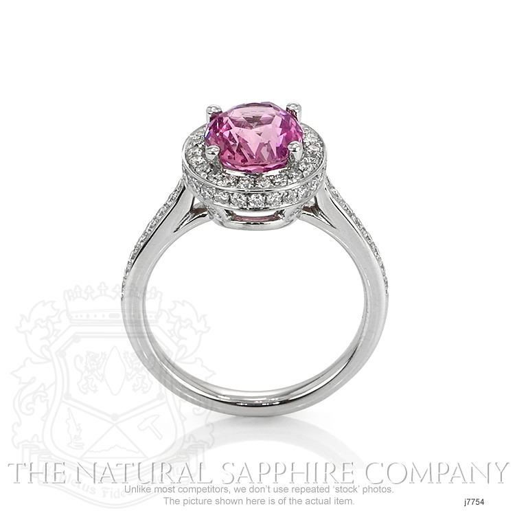 2.79ct Pink Sapphire Ring Image 4